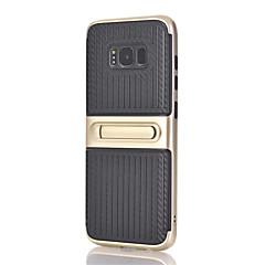 Etui Käyttötarkoitus Samsung Galaxy S8 Plus S8 Tuella Takakuori Linjat / aallot Kova PC varten S8 S8 Plus S7 edge S7 S6 edge plus S6 edge
