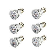 5W E26/E27 LED Spotlight B 5 leds COB Decorative Warm White 400-450lm 3000K AC 85-265V