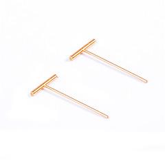 preiswerte Ohrringe-Damen Ohrstecker / Anhänger - Alphabet Form Modisch, Euramerican Gold / Silbern Für Alltag / Normal