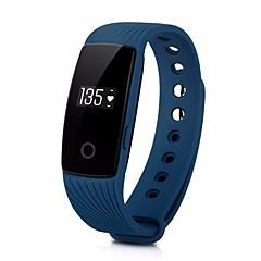 billige Elegante ure-du id107 mænds kvinde bluetooth smart armbånd / smartwatch / sports skridttæller ios android