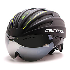 BCAIRBULL® Bike HelmetUnisex Full-Face Bike helmet 28 Vents Cycling Road Cycling One Size PC / EPS White Visor Adjustable
