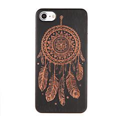 Недорогие Кейсы для iPhone 7-Кейс для Назначение iPhone 7 Plus IPhone 7 Apple С узором Кейс на заднюю панель Ловец снов Твердый деревянный для iPhone 7 Plus iPhone 7