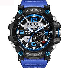 preiswerte Herrenuhren-Herrn Unisex Sportuhr Militäruhr Modeuhr Einzigartige kreative Uhr Armbanduhr Armband-Uhr digital Kalender Wasserdicht Alarm