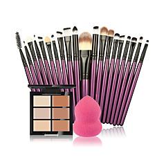 voordelige ogen-Concealer/Contour Poederdons/Cosmeticaspons Make-up borstels Nat Gezicht Witter maken Vochtigheid Concealer Naturel Ademend Verheldering
