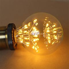 1pcs e27 g95 2.5w 300-350lm llevó la lámpara blanca caliente de los fuegos artificiales de la mazorca de los bulbos del filamento ac220-240v