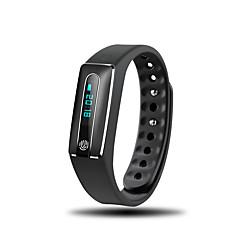 Χαμηλού Κόστους Έξυπνα ρολόγια-Έξυπνο βραχιόλι Συσκευή Παρακολούθησης Καρδιακού Παλμού Ανθεκτικό στο Νερό Ασύρματη Φόρτιση Θερμίδες που Κάηκαν Βηματόμετρα Πληροφορίες