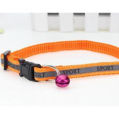 お買い得  犬用首輪/リード/ハーネス-ネコ 犬 ハーネス リード 安全用具 フラワー ナイロン ブラック オレンジ ダークブルー レッド
