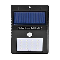 olcso Kültéri lámpa és gyertyatartók-1,5 W LED projektorok Érzékelő Infravörös érzékelő Könnyű beszerelni Vízálló Kültéri világítás Természetes fehér
