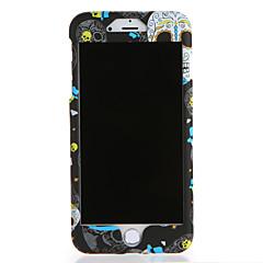 Недорогие Кейсы для iPhone 6 Plus-Кейс для Назначение Apple iPhone 7 Plus iPhone 7 С узором Чехол Черепа Твердый ПК для iPhone 7 Plus iPhone 7 iPhone 6s Plus iPhone 6s