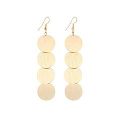 preiswerte Ohrringe-Damen Tropfen-Ohrringe - versilbert, vergoldet Anhänger Stil, Retro, Böhmische Gold / Silber Für Weihnachts Geschenke / Hochzeit / Party