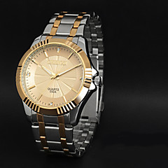 preiswerte Tolle Angebote auf Uhren-CHENXI® Herrn Armbanduhr Quartz Schwarz Armbanduhren für den Alltag Analog Charme - Gold Weiß Schwarz Zwei jahr Batterielebensdauer / Maxell SR626SW
