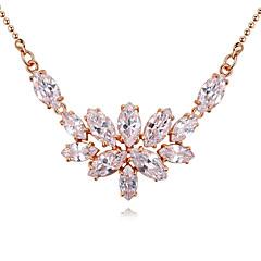 preiswerte Halsketten-Damen Geometrisch Anhängerketten - vergoldet Luxus, Einzigartiges Design, Anhänger Stil Gold, Silber, Rotgold Modische Halsketten Schmuck Für Weihnachts Geschenke, Hochzeit, Party