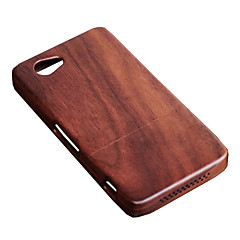 Cornmi для sony xperia z1mini d5503 z1 compact z1min rosewood грецкий орех древесины жесткий деревянный корпус задней крышки