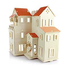voordelige -Legpuzzels 3D-puzzels Bouw blokken DHZ-speelgoed Hout Modelbouw & constructiespeelgoed
