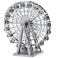 abordables Puzzles 3D-Puzzles 3D Puzzles de Metal Juguetes de construcción Juguetes Rueda de la fortuna Madera Unisex Piezas