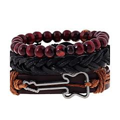 abordables Bijoux pour Femme-Homme / Femme Bracelets en cuir - Cuir Mode Bracelet Arc-en-ciel Pour Mariage / Soirée / Sports