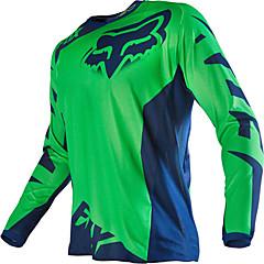 abordables Chaquetas para Moto-Zorro motocicleta off-road camiseta manga larga traje de equitación velocidad de los deportes al aire libre ropa casual
