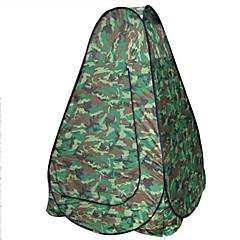 AOXIANGZHE 1 사람 텐트 더블 베이스 캠핑 텐트 원 룸 접이식 텐트 방수 휴대용 용 하이킹 캠핑 2000-3000 mm 유리 섬유 옥스포드-120*120*190 CM