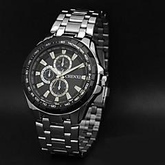preiswerte Herrenuhren-CHENXI® Herrn Armbanduhr Armbanduhren für den Alltag Edelstahl Band Charme Silber