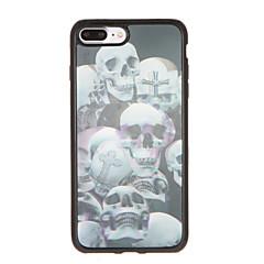 For Pattern Case Back Cover Case Skull Soft TPU for Apple iPhone 7 Plus iPhone 7 iPhone 6s Plus iPhone 6 Plus iPhone 6s iPhone 6