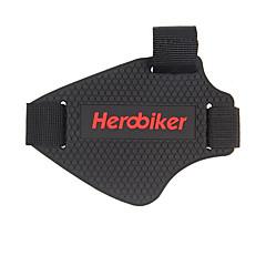 Недорогие Средства индивидуальной защиты-Herobiker мотоцикл коробка передач наборы повесить блок резиновые сапоги наборы переключения передач площадку киосков обуви покрытие 1шт