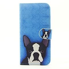 Etui Til Samsung Galaxy J7 Prime J5 Prime Pung Kortholder Med stativ Flip Heldækkende Hund Hårdt Kunstlæder for On7(2016) On5(2016) J7