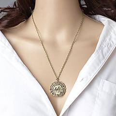 preiswerte Halsketten-Damen Anhängerketten - Totenkopf damas, Retro, Modisch, Euramerican Gold, Silber, Bronze Modische Halsketten Schmuck Für Alltag
