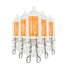 3W G9 LED Bi-pin Lights T 2 COB 200-300 lm Warm White Cold White 2800-3200/6000-6500 K Decorative AC 220-240 V