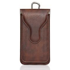 Недорогие Кейсы для iPhone 7 Plus-Назначение iPhone X iPhone 8 Чехлы панели Магнитный Other Мешочек Кейс для Сплошной цвет Мягкий Натуральная кожа для Apple iPhone X
