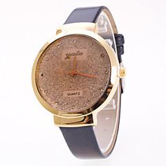 お買い得  レディース腕時計-女性用 リストウォッチ 宝飾腕時計 クォーツ 星の PU バンド ハンズ チャーム ファッション エレガント ブラック / 白 / レッド - ブラック パープル レッド 1年間 電池寿命 / Jinli 377