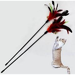 Kattenspeeltje Huisdierspeeltjes Interactief Speelhengels Duurzaam Stof
