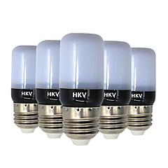 3W E14 E26/E27 LED Corn Lights 20 leds SMD 5736 Warm White Cold White 200-300lm 2800-3200/6000-6500K AC 220-240V