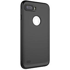 Назначение iPhone 8 iPhone 8 Plus Чехлы панели Водонепроницаемый Чехол Кейс для Сплошной цвет Мягкий Искусственная кожа для Apple iPhone