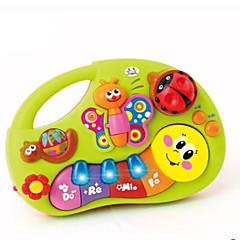 tanie -Instrumenty zabawek Zabawki Keyboard elektroniczny Zabawki Zabawa Okrągły Sztuk Dziecięce Urodziny Prezent