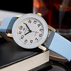 Γυναικεία Μοδάτο Ρολόι Μοναδικό Creative ρολόι Καθημερινό Ρολόι Ρολόι Καρπού Χαλαζίας Δέρμα ΜπάνταΦυλαχτό Καθημερινά Δημιουργικό