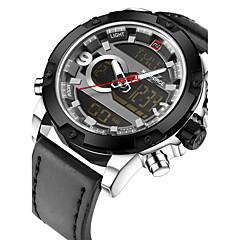 NAVIFORCE Heren Sporthorloge Militair horloge Modieus horloge Polshorloge Unieke creatieve horloge Vrijetijdshorloge Digitaal horloge