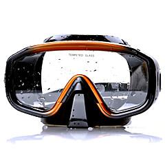 abordables Máscaras de Buceo-Gafas de buceo Máscara de esnórquel Protector Natación Buceo Eco PC Material Mixto