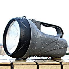 olcso Elemlámpák-YAGE YG-5710 LED zseblámpák LED lm 2 Mód LED Újratölthető Tompítható High Power Kempingezés/Túrázás/Barlangászat Vadászat Több funkciós