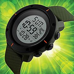 Herrn Sportuhr Kleideruhr Modeuhr Armbanduhr Einzigartige kreative Uhr Chinesisch digital Kalender Chronograph Wasserdicht Nachts