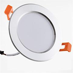 billige Indendørsbelysning-1pc 9W 900lm 20 lysdioder Let Instalation Forsænket Dekorativ LED nedlys Varm hvid Kold hvid AC 85-265V