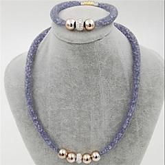 Mujer Cuentas Encantos pulsera de yoga Diamante sintético Circular Diseño Único Amor Corazón Naturaleza Círculo Amistad Clásico Moda