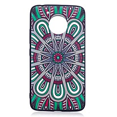 For Motorola Moto G5 Plus Case Cover Mandala Pattern Relief Back Cover Soft TPU