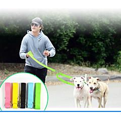 voordelige Hondenhalsbanden, tuigjes & riemen-Kat Hond Veiligheid Effen Nylon Geel Groen Blauw Roze Zwart