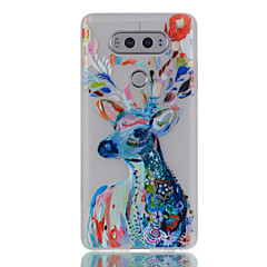 Case For LG Glow in the Dark Pattern Back Cover Animal Flower Soft TPU for LG K10 LG K8 LG K7 LG K5 LG G5 LG G6 LG V20 LG X Screen