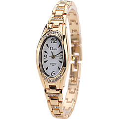 お買い得  レディース腕時計-女性用 リストウォッチ クォーツ シルバー / ゴールド / ローズゴールド クリエイティブ クール ハンズ レディース チャーム ぜいたく カジュアル ファッション - ゴールド シルバー ローズゴールド 1年間 電池寿命 / SSUO LR626