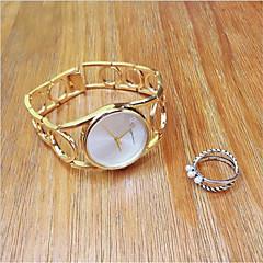 preiswerte Tolle Angebote auf Uhren-Damen Armband-Uhr / Armbanduhr Chinesisch Kreativ / Armbanduhren für den Alltag / Cool Edelstahl Band Retro / Freizeit / Armreif Silber / Gold