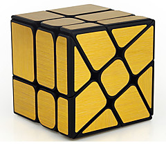 Rubik's Cube Smooth Speed Cube Mirror Cube Smooth Sticker Adjustable spring Magic Cube Educational Toy Stress Relievers ABS PVC Gift