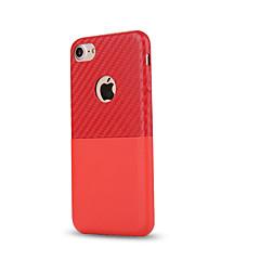 Недорогие Кейсы для iPhone 5-Назначение iPhone 8 iPhone 8 Plus Чехлы панели Бумажник для карт Защита от удара Задняя крышка Кейс для Сплошной цвет Мягкий