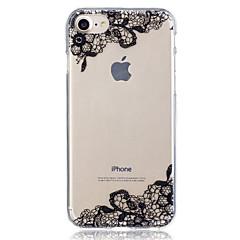 Для яблока iphone 7 плюс 7 кружевной печатной формы чехол задняя крышка чехол мягкий tpu для iphone 6s плюс 6 плюс 6s 6 5 5s se