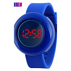 preiswerte Tolle Angebote auf Uhren-Damen Sportuhr / Smartwatch / Armbanduhr Chinesisch Chronograph / Kreativ / Cool Silikon Band Charme / Modisch / Kleideruhr Mehrfarbig / Großes Ziffernblatt
